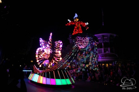 Disneyland 60th Anniversary Celebration Paint the Night-28