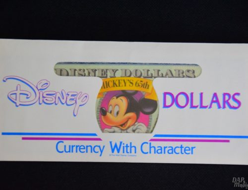 Disney Dollars – DAPs From the Past