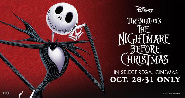 The Nightmare Before Christmas Returns to Theaters