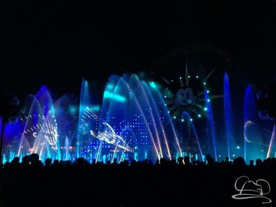 The world premiere of World of Color - Season of Light as part of the Festival of Holidays at Disney California Adventure at the Disneyland Resort.
