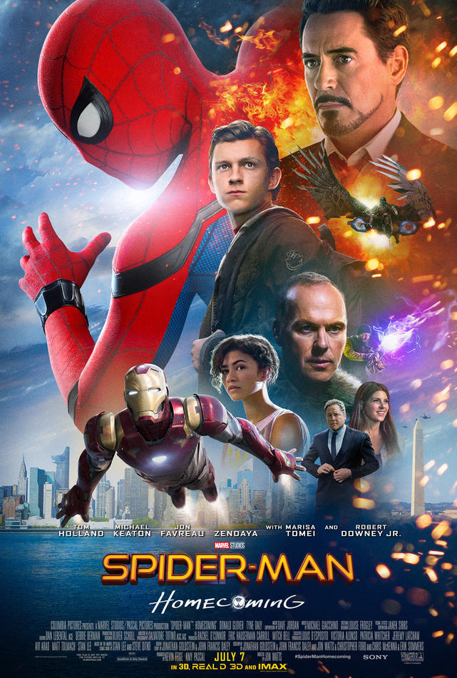 Marvel's Spider-Man: Homecoming Poster