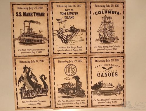 Collector Cards & More Rivers of America Construction – Disneyland Update & Sundays With DAPs
