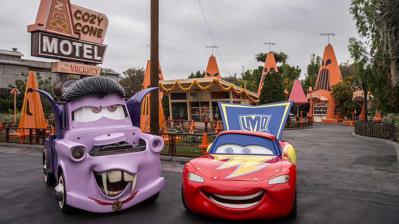 Cars Get New Paint Jobs For Haul O Ween At Disneyland Resort