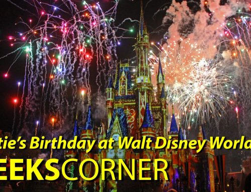 Caitie's Birthday at Walt Disney World! – GEEKS CORNER – Episode 804