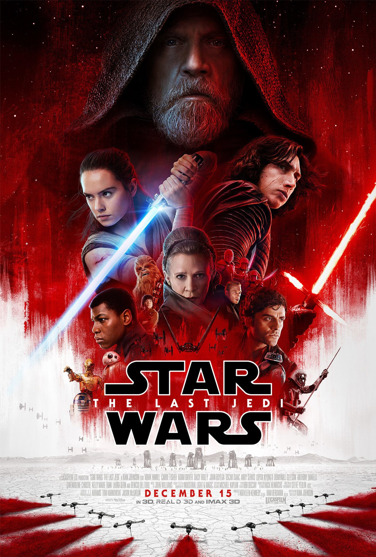 Star Wars: The Last Jedi Theatrical Poster