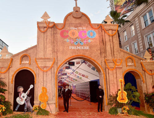 Hollywood Lays Out a Marigold Carpet for Disney-Pixar Coco Premiere