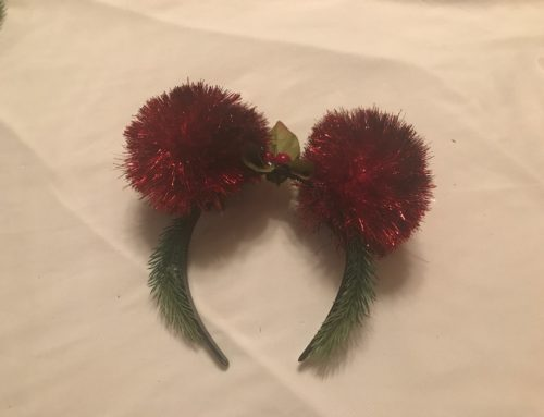 DIY Holiday Mickey Ears Under $10 – Walk-Through