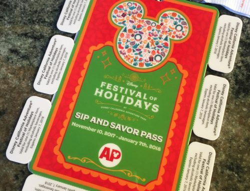 Annual Passholder Sip and Savor Pass Returns For Festival of Holidays 2017