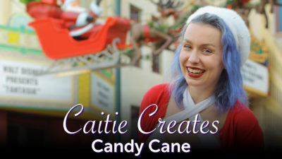 Caite Creates - Candy Cane Disneybound