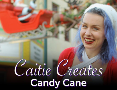 Candy Cane Inspired Vintage – Caitie Creates