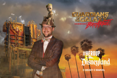 Mr. DAPs - Guardians of the Galaxy - Mission: BREAKOUT! Media Event