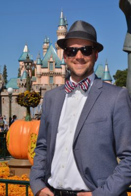 Dressing up for Disney - Mr. DAPs
