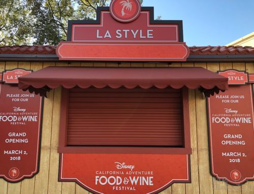 Disneyland Update 2/26/18 With Food and Wine Booths and Construction