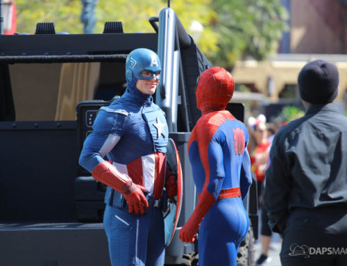 Captain America Arrives On New Ride to New Photo Location at Disney California Adventure
