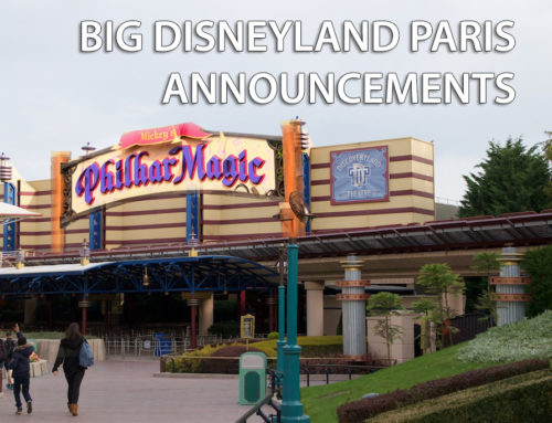 Disneyland Paris Announces Big Improvements Including a New Attraction!
