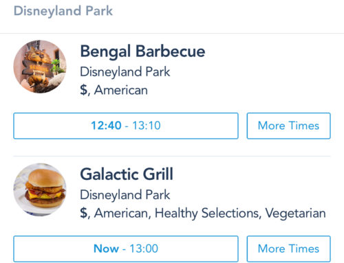 Mobile Ordering Arrives at Disneyland for 15 Locations