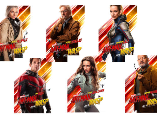 Marvel Studios Share Ant-Man and the Wasp Character Photos