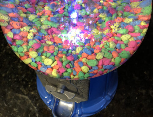 Gumball Fish Tank: DAPS Crafts