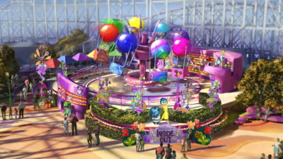 Inside Out Emotional Whirlwind - Pixar Pier