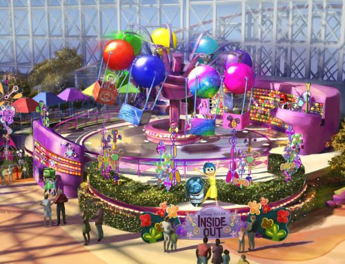 Pixar Pier to Open Inside Out Emotional Whirlwind at Disney California Adventure in 2019