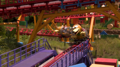 Slinky Dog Dash - Toy Story Land