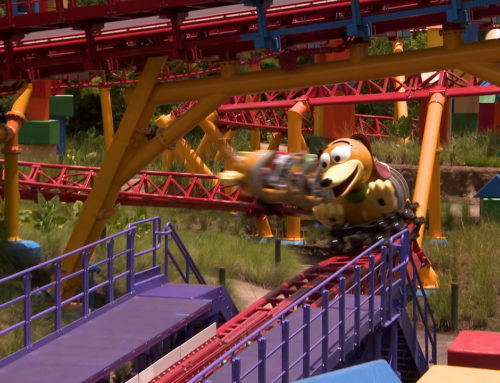 Walt Disney World Resort Cast Members Get an Early Ride on Toy Story Land's Slinky Dog Dash