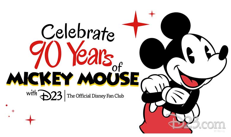Celebrating 90 Years of Mickey Mouse with D23: The Official Disney Fan Club
