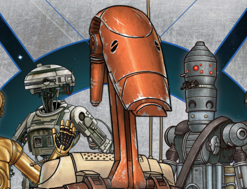 STAR WARS: DROIDOGRAPHY, the Definitive Droid Book Coming Just In Time For Christmas!