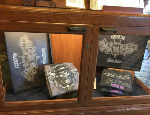 Disneyland Resort Unveils New Annual Passholder Exclusive Haunted Mansion Merchandise