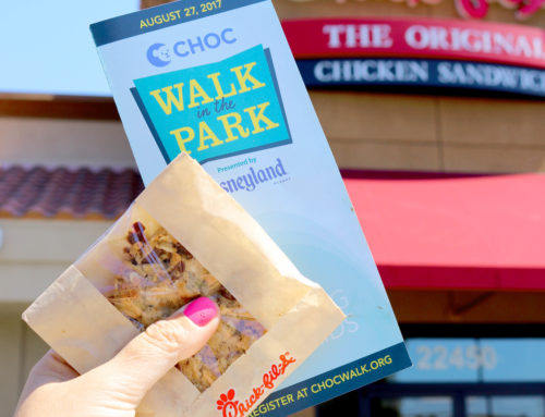 Support CHOC Walk in the Park on Chick-fil-A Cookie Day THIS Wednesday, August 15th!