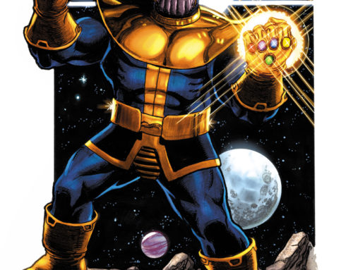Marvel Comics News Digest Featuring Thanos
