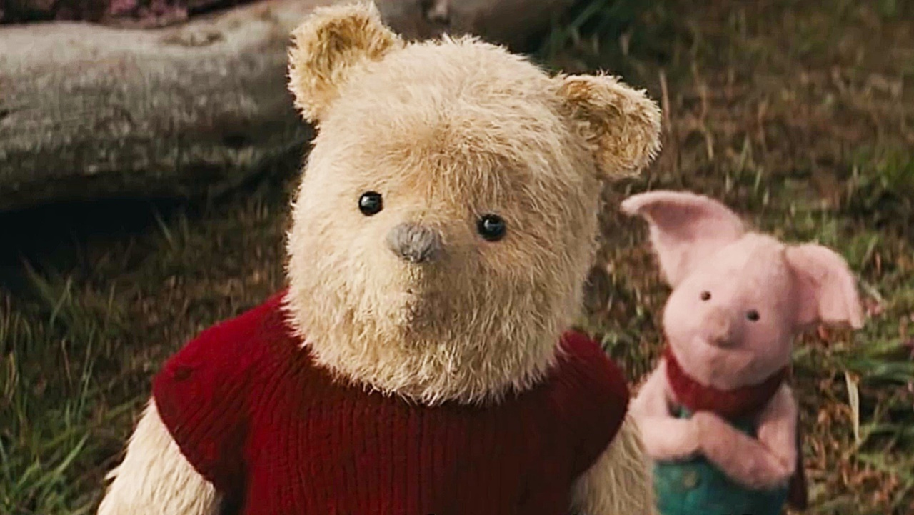 Christopher Robin - Winnie the Pooh and Piglet