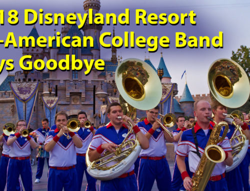 The 2018 Disneyland Resort All-American College Band Says Goodbye