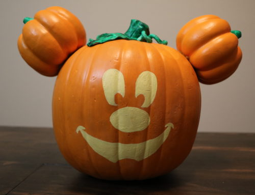 Celebrate Halloween the Disneyland Way With This Main Street, USA Mickey Jack-O-Lantern Pumpkin DIY!