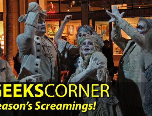 Season's Screamings! – GEEKS CORNER – Episode 902