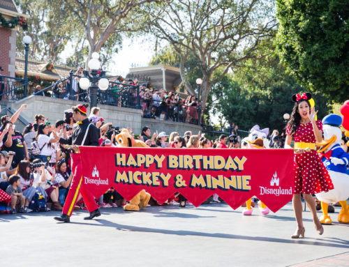 Mickey and Minnie's 90th Birthday Cavalcade at Disneyland, In Pictures