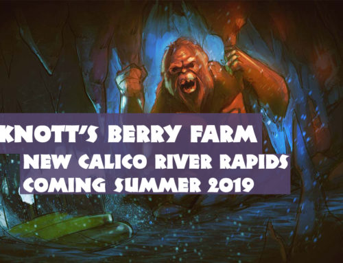 Knott's Berry Farm Will Have New Watery Thrills and Surprises With Calico River Rapids in Summer 2019