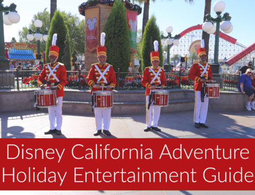 See the Magical Merriment of the Holidays Come Alive with the 2018 Entertainment Offerings at Disney California Adventure Park