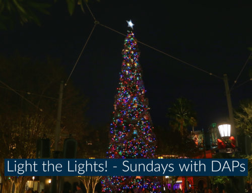 Light the Lights! – Sundays with DAPs