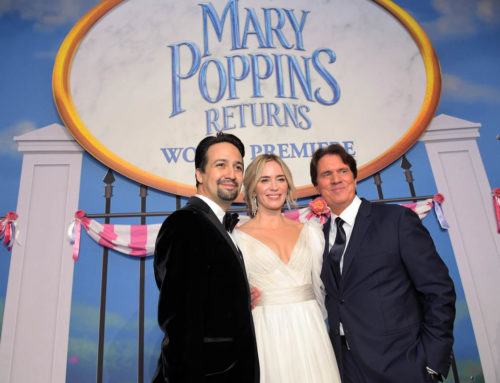 Mary Poppins Returns World Premiere Brings Out the Stars on a Rainy Night in Hollywood!