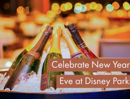 Make New Year's Eve Even More Magical By Celebrating at Disney Parks