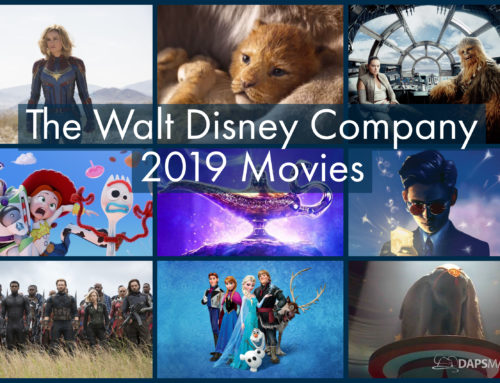 Looking Forward at The Walt Disney Company's Schedule of Movies For 2019