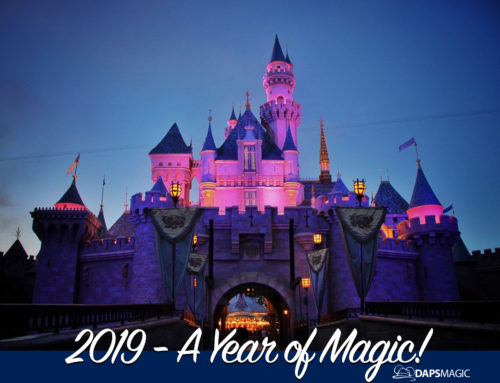 NEW THIS YEAR – Bring the Magic of Disneyland and Walt Disney World Resorts Home with 2019 DAPs MAGIC Photo Calendar