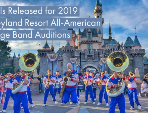 Disneyland Resort All-American College Band Audition Information Released for Those Ready to Make Musical Magic in 2019
