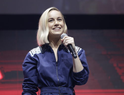 Brie Larson Represents Marvel Studios' CAPTAIN MARVEL at Brazil Comic Con Experience