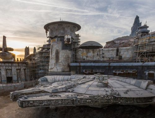 Get Your Out of this World Exclusive First Look at the Millenium Falcon in Star Wars: Galaxy's Edge