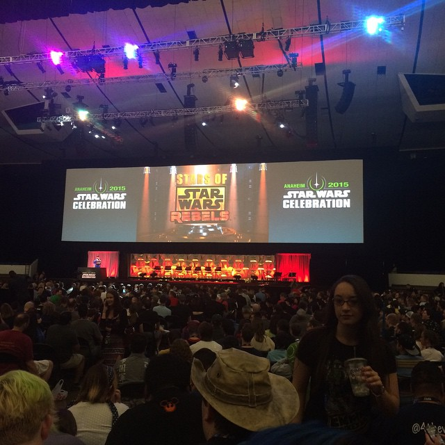 Almost Time for the Star Wars Rebels Panel!