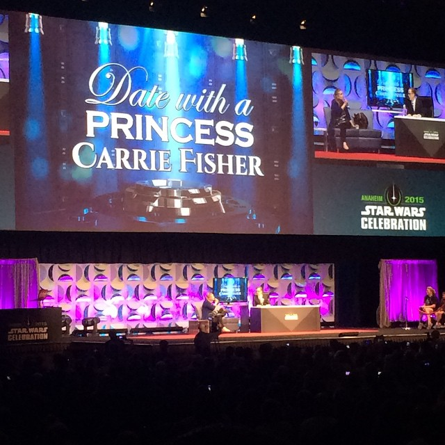 Time for Date With a Princess: Carrie Fisher