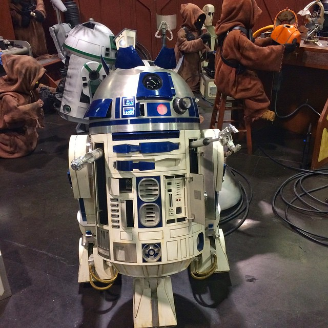 R2-D2 is Front and Center at Star Wars Celebration