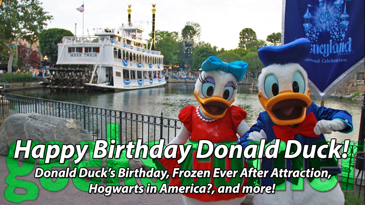 Happy Birthday Donald Duck! – Geeks Corner – Episode 436